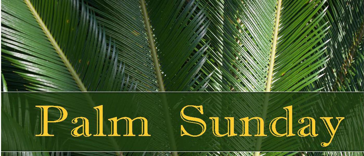 Palm Sunday 2018
