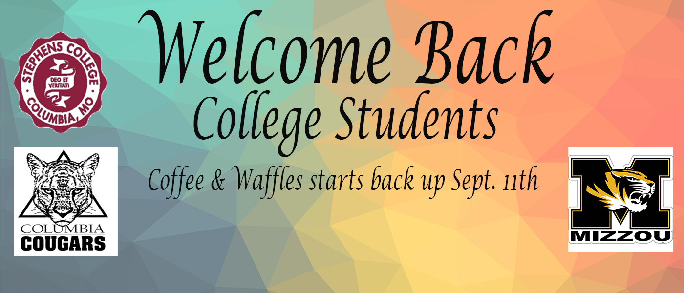 Welcome back College students
