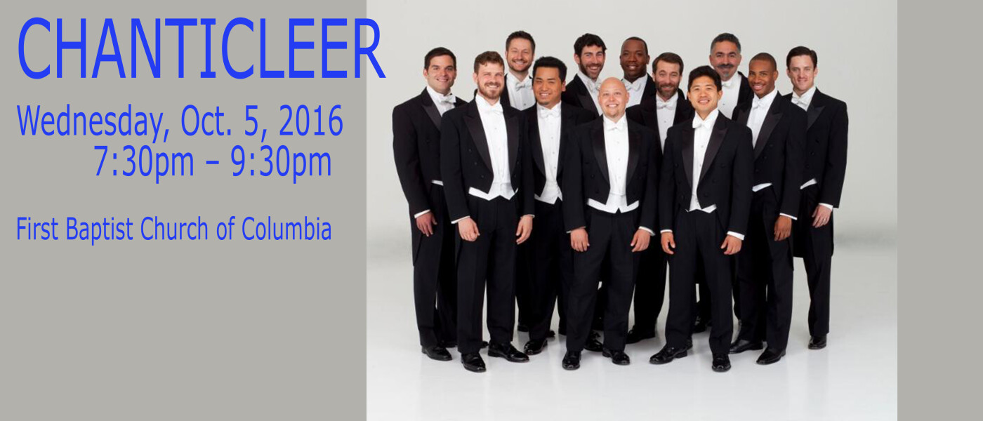 Chanticleer Music group 2016