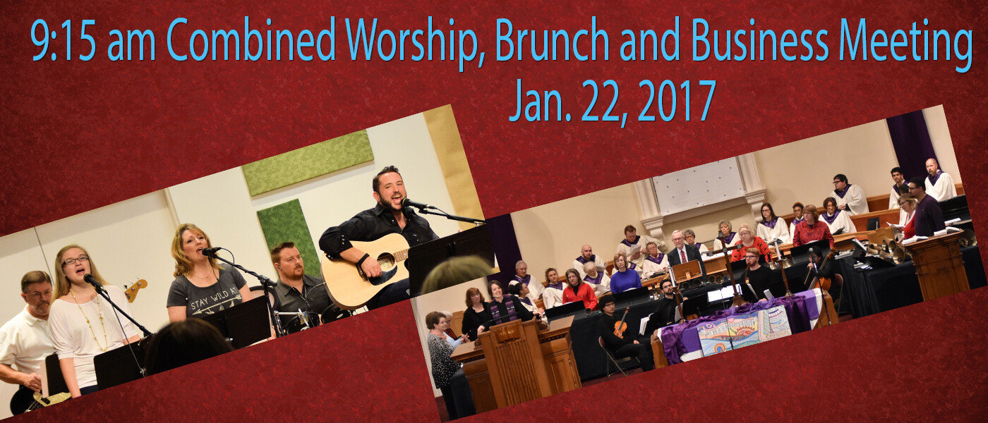 Combined Worship Spring 2017
