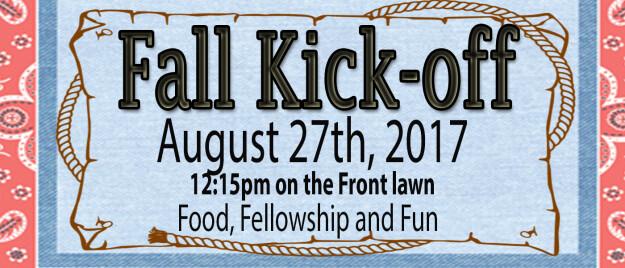 Fall Kick-Off picnic 2017