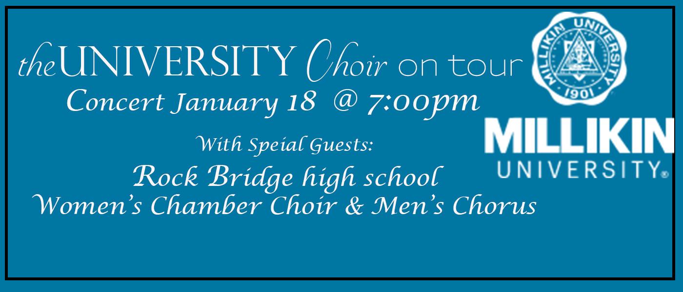 Millikin University Choir Concert