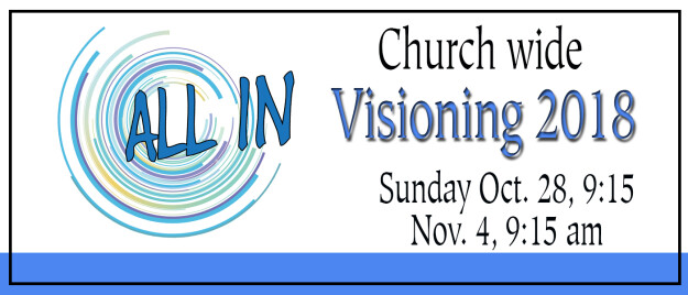 ALL IN - Church wide Visioning