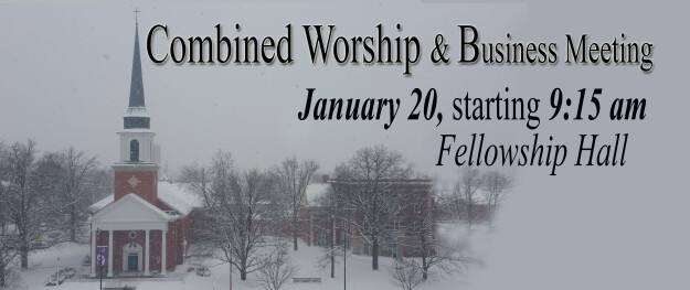 Combined Worship & Business meeting