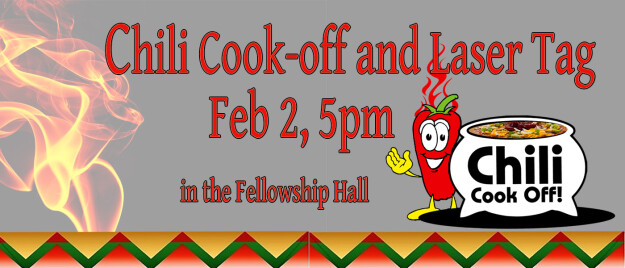 Chili Cook Off and Laser Tag
