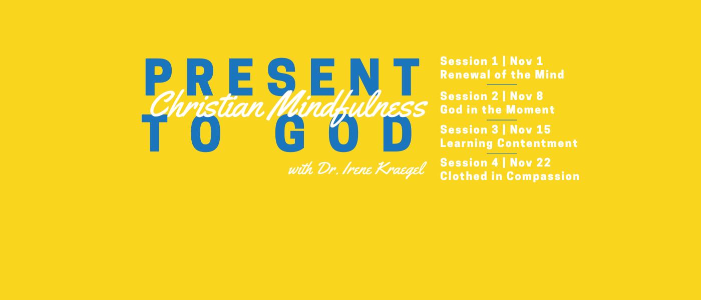 Christian Mindfulness event