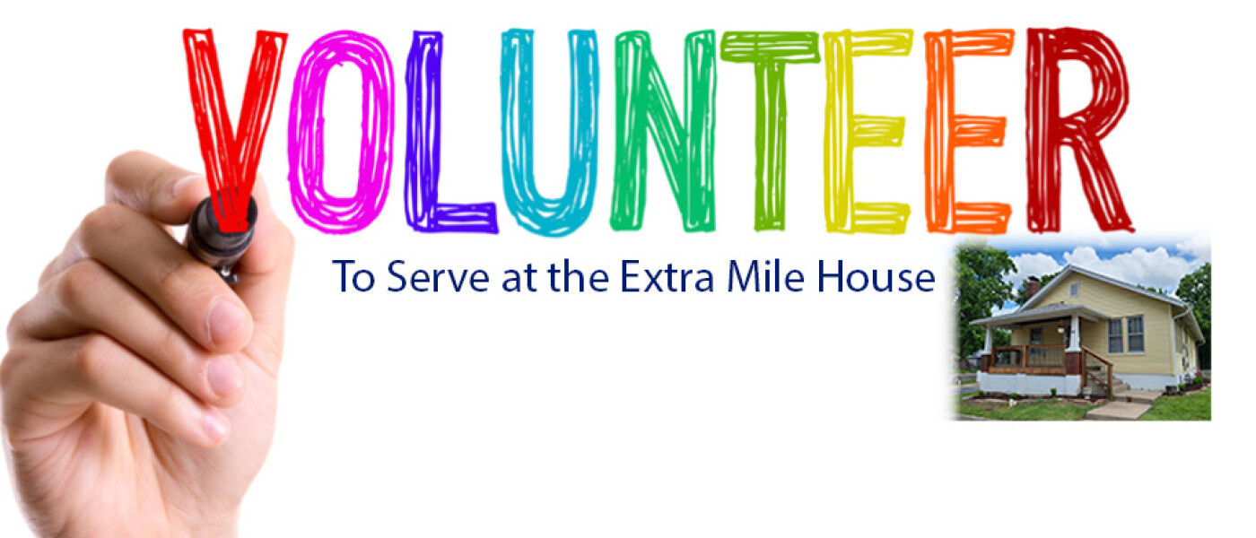 Extra Mile house sign-up form