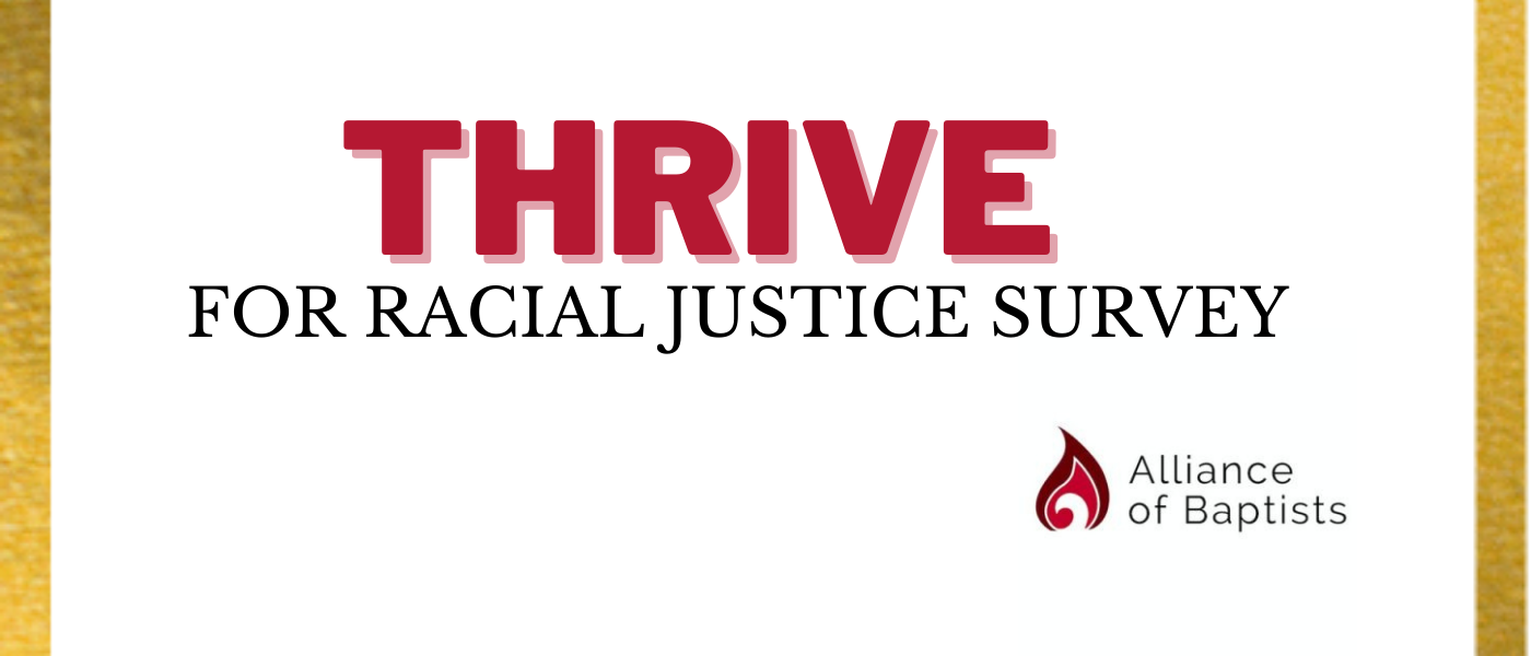 THRIVE for racial justice survey